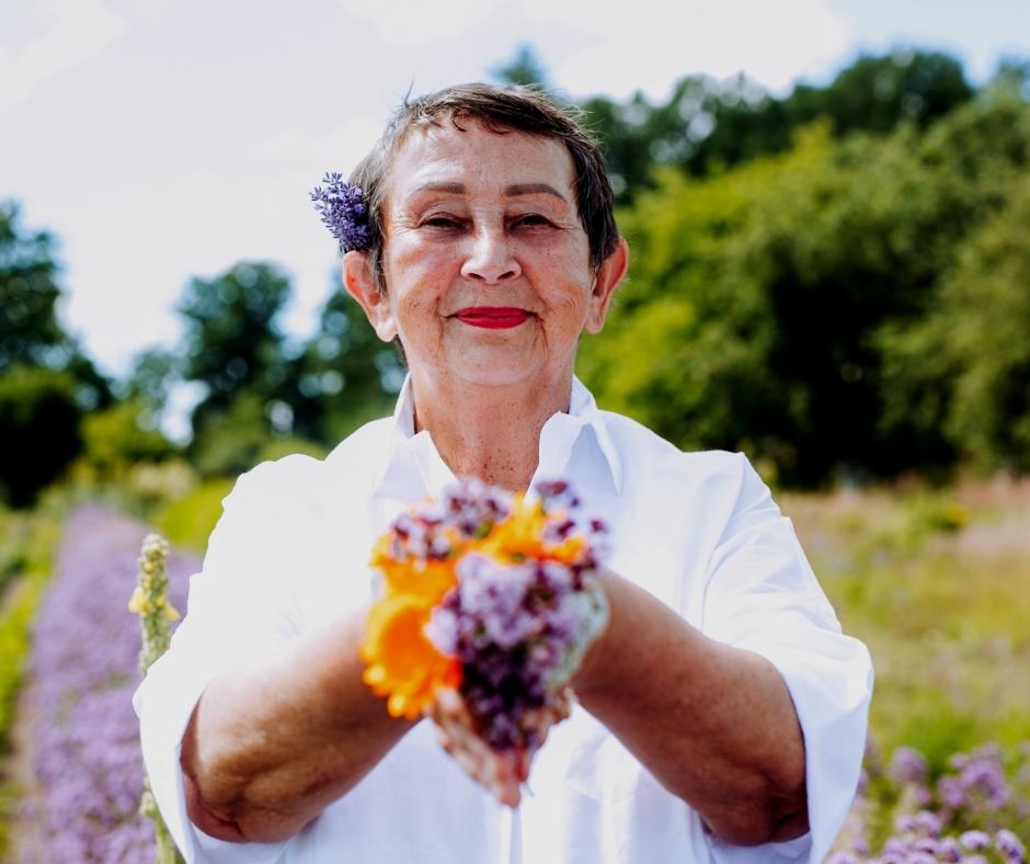 Mārīte Merga - homeopāte, imidžterapteite, Cigun praktiķe un instruktore, domformu medicīnas speciāliste, ārstniecības augu zinātāja
